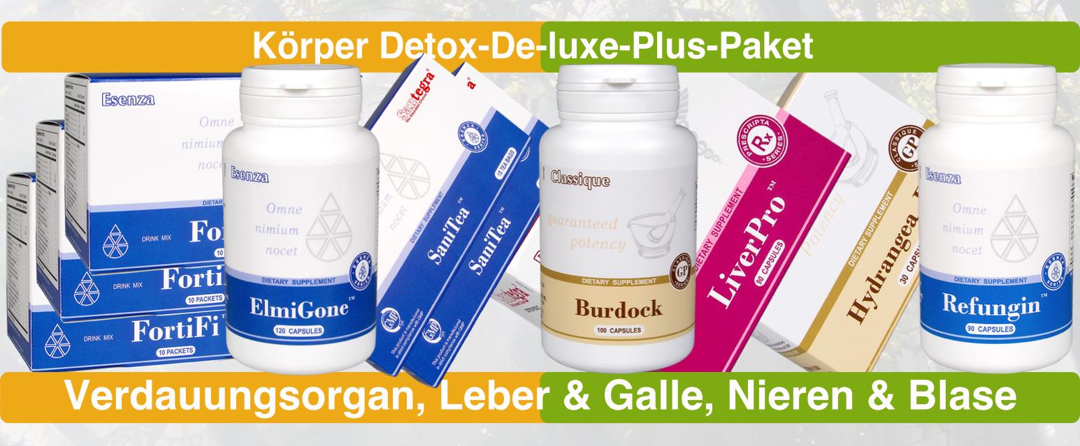 Körper Detox-De-luxe-Plus-Paket