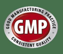 Produkte GMP Richtlinien geprueft, GMP Logo