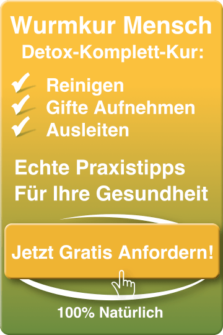 Santegra Wurmkur-Mensch Detox-Kur-Ratgeber