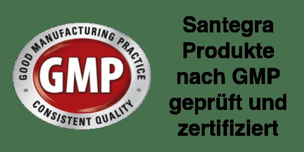 Santegra Produkte GMP Richtlinien geprüft, GMP Logo